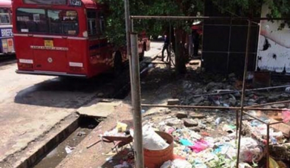 Jaffna town garbage collection affected due to strike