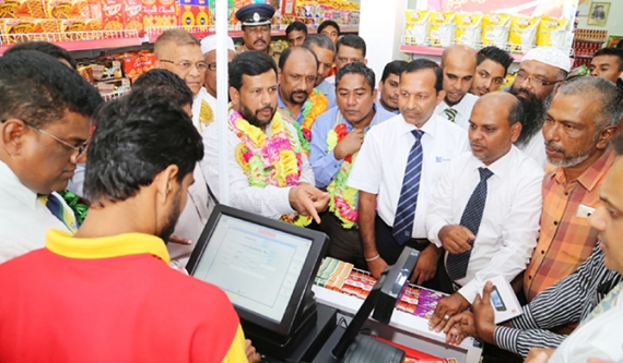 Record revenue for latest Lanka Sathosa outlet on Day 1