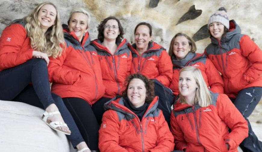 Largest all-women expedition heads to Antarctica