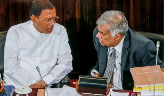 Maithri- Ranil emergency meeting after Modi leaves!