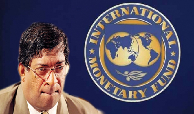 IMF report strongly criticizes Ravi K's failures