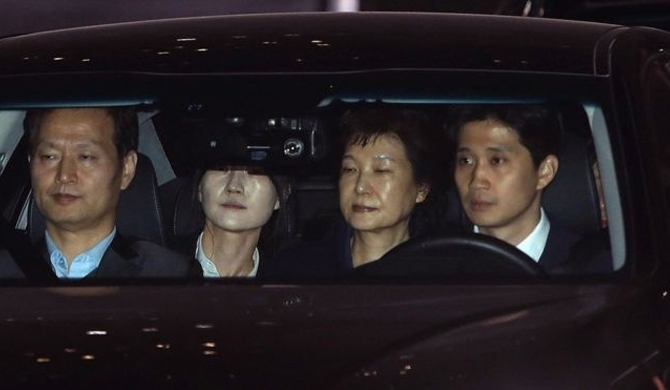 Ex - S. Korean President arrested