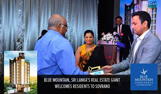 Keys handed over to Blue Mountain Sovrano owners
