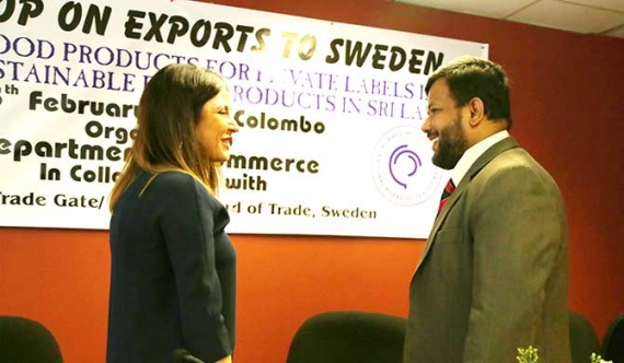Sri Lanka's pioneering 'Export to Sweden' a hit