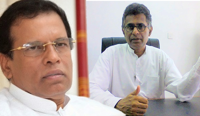 Champika airs his worry in front of president