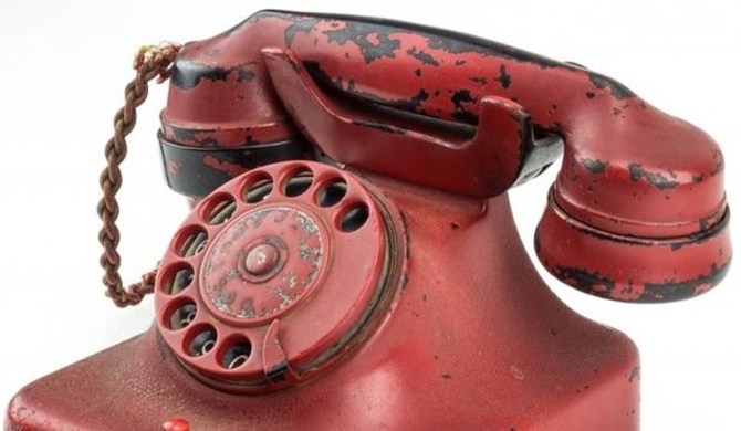 Hitler's phone auctioned