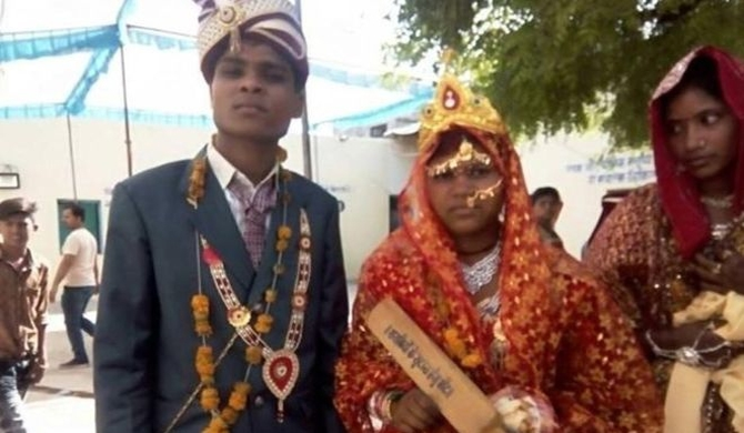 Indian brides given bat for abusive husbands