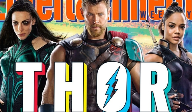 Thor chops off his locks for Thor: Ragnarok (Pics)
