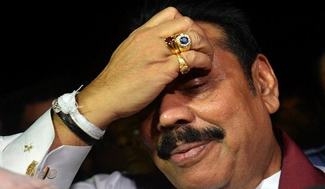 Political excitement over report on Mahinda's civic rights