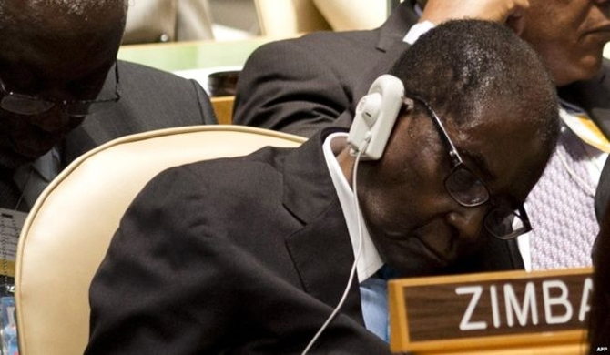 Mugabe not asleep