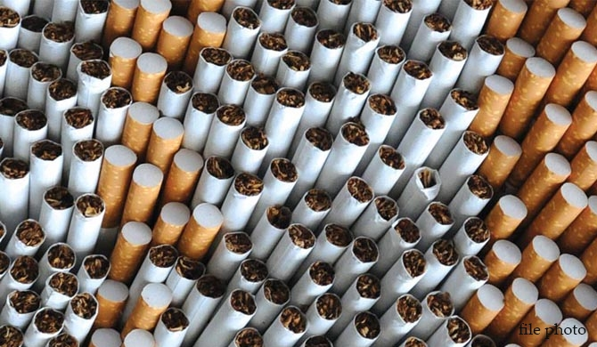 High taxes trigger an influx of illicit cigarettes