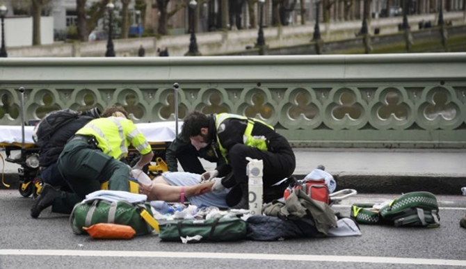 London attacker 'known to MI5'