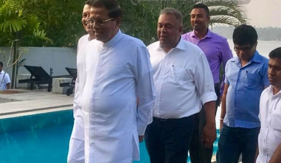 Mahinda eyes Foreign Minister post?