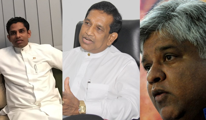 Arjuna dodges May Day rally; Rajitha, Chatura in Jaffna
