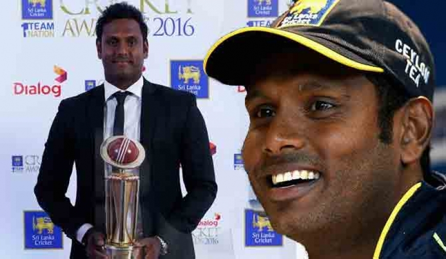Mathews is Dialog Cricketer of the Year