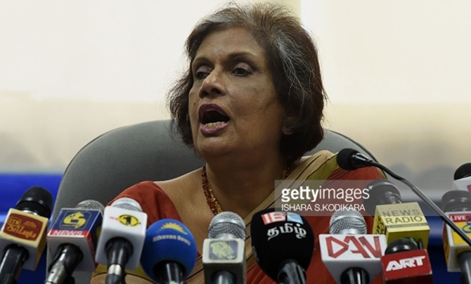 Maithri not named as presidential candidate - Chandrika
