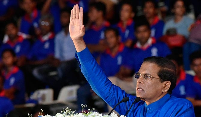 Action against corrupt politicians – President