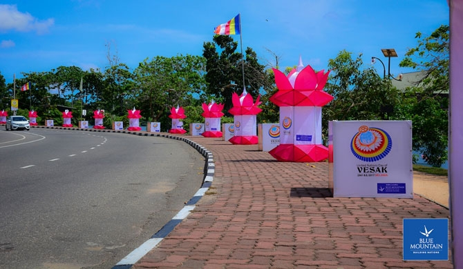 Blue Mountain to light up UN Vesak Day celebrations
