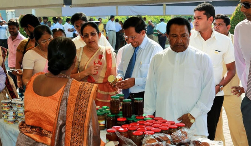 Samurdhi trade fair launched (Pics)