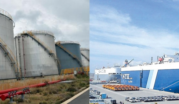 Hambantota Harbour and oil tanks to the Chinese!