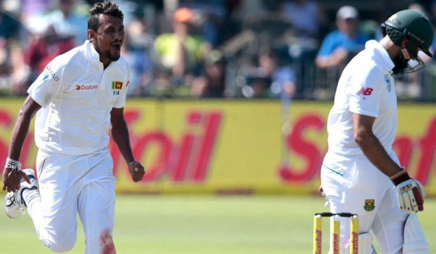 Lakmal bags five wicket haul