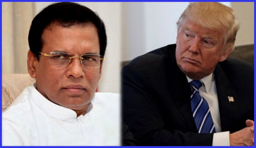 Maithri seeks Trump's support!
