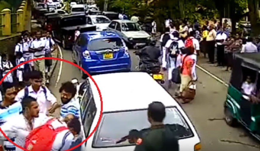 Kandy assault : Assaulters released on police bail