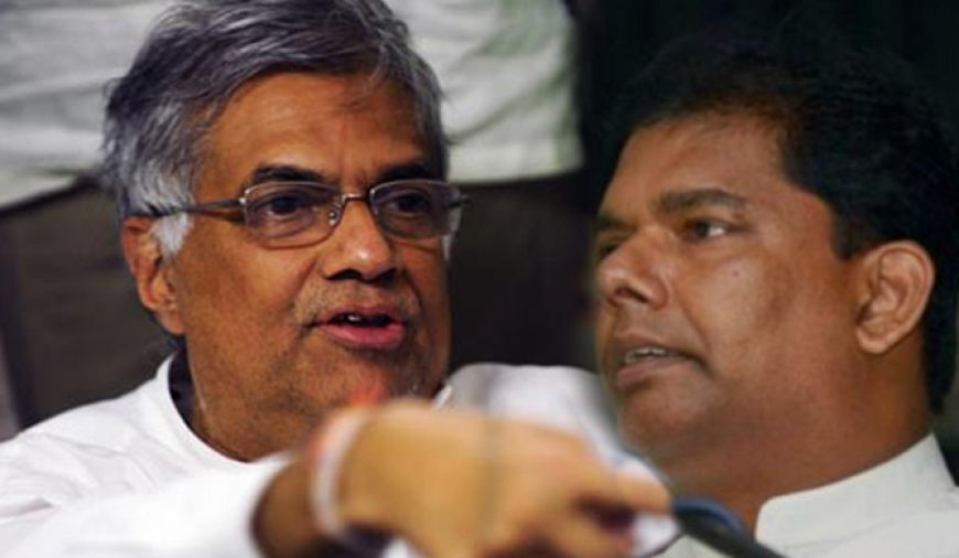 Ranil orders Gayantha to obtain Bopage's signature
