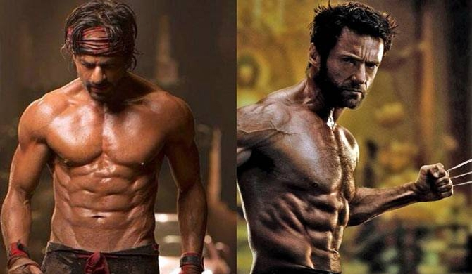 Maybe SRK could be next Wolverine - Hugh Jackman