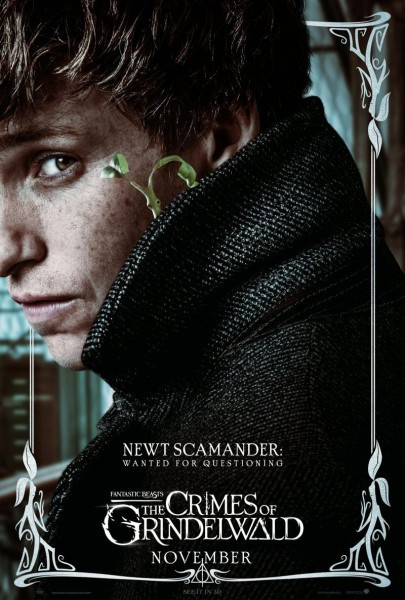 fantastic beasts the crimes of grindelwald newt poster 405x600