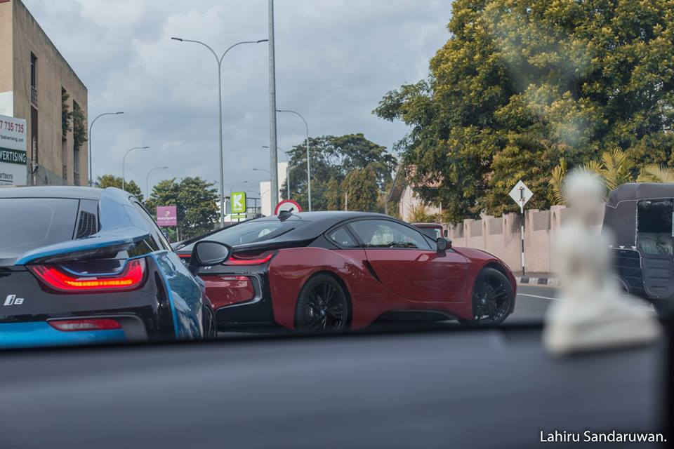 B M W I8 Rally In Colombo Pics