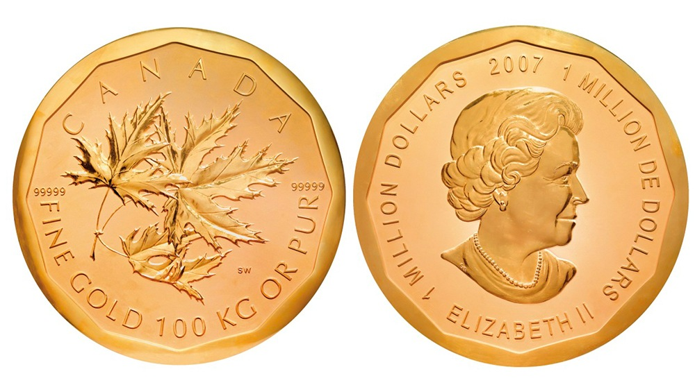 Big Maple Leaf gold coin Berlin Police