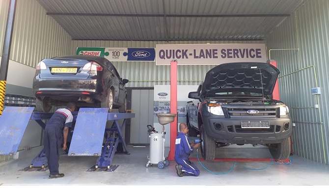Ford Quick-Lane service launched