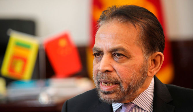 Sri Lanka is not renegotiating Hambantota port lease deal with China - Kohona