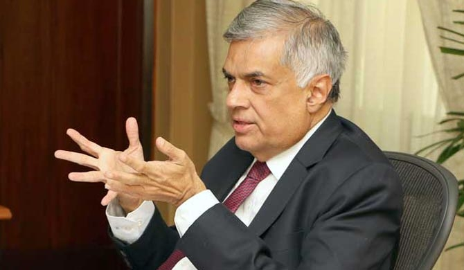 CID records statement from Ranil