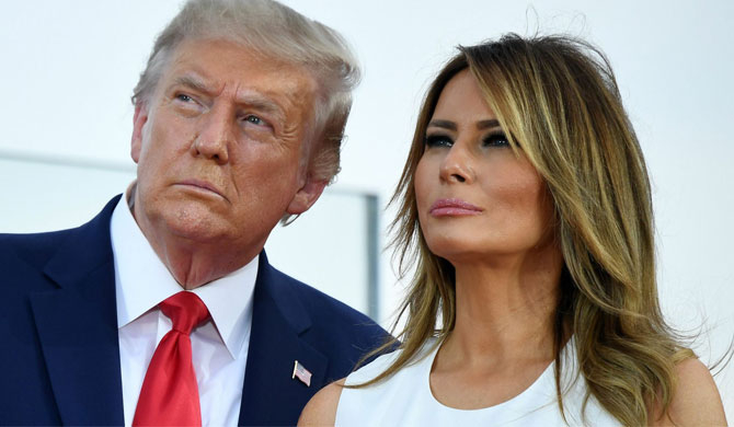 Trump, Melania tests positive for Covid-19 (Update)