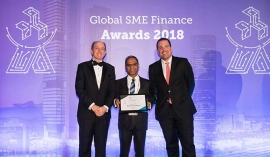Nations Trust Bank lauded at Global SME Finance Awards