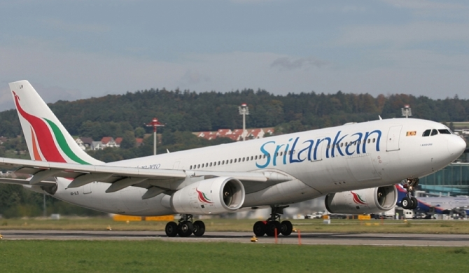 SriLankan flight crew contains mid-air fire