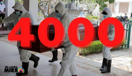 COVID-19 related deaths in Sri Lanka has exceeded 4,000