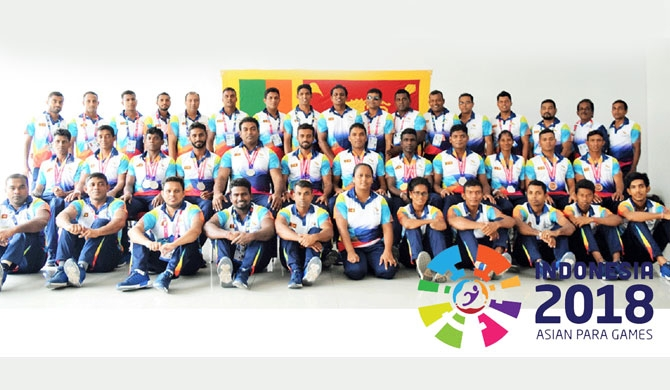 Victorious para-athletes return to SL