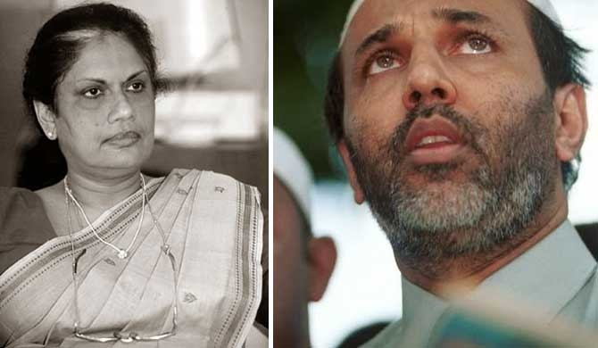 Chandrika to take Hakeem to Bribery Commission
