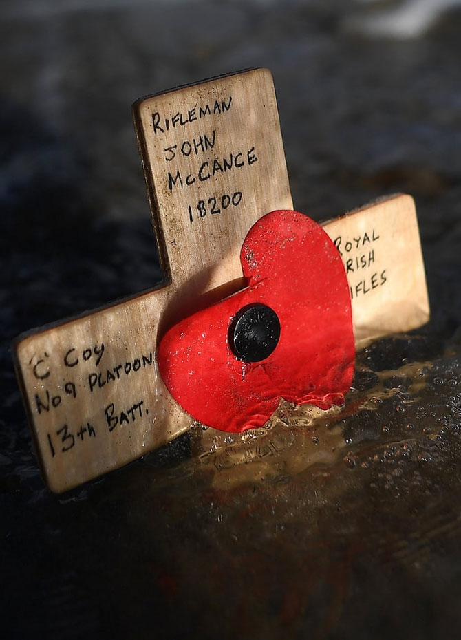 WWI Armistice centenary commemorated (Pics)