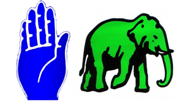 SLFP, UNP hold separate discussions