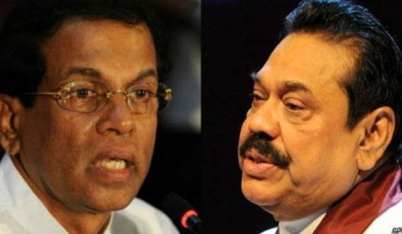 Maithri receives a draft MoU from Mahinda!