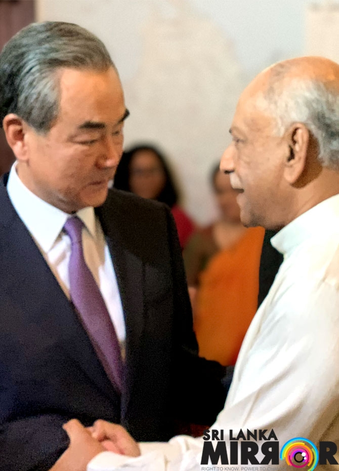 China - SL Foreign ministers meet in Colombo (Pics )
