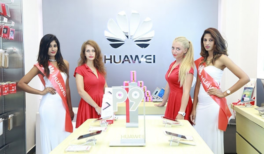 Huawei opens new experience store in Colombo