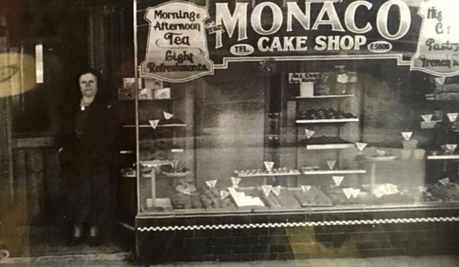Pearl Levine opened Monaco Cake Shop, Melbourne's first Jewish bakery, in 1931