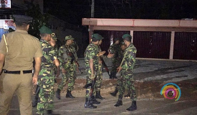 Security beefed up in Jaffna (Pics)