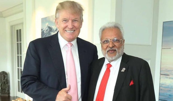 Trump's friend to visit Sri Lanka