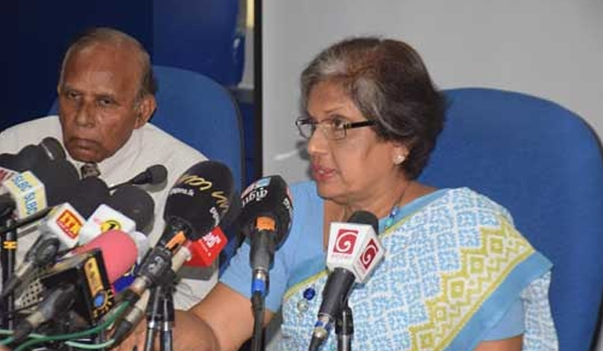 Chandrika says doesn't want a divided SLFP